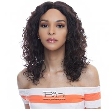 The Wig Black Pink 100% Brazilian Virgin Remy Human Hair 360 Lace Wig - HBL360 HONEY 16-18