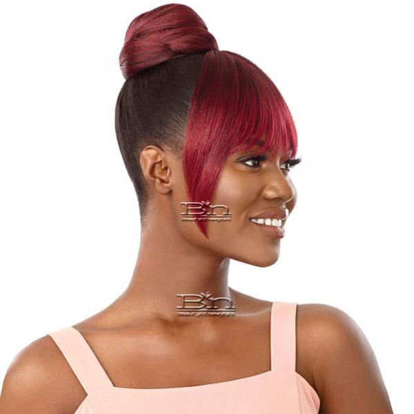 Outre Synthetic Pretty Quick Bun & Bang - ANGELINE