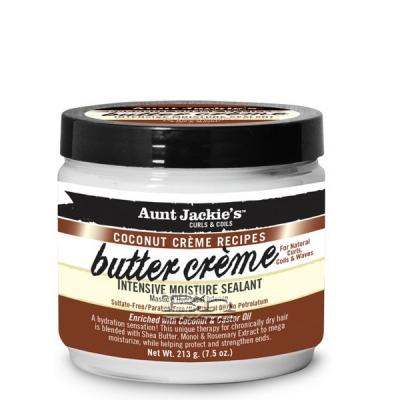 Aunt Jackie's Coconut Creme Recipes Butter Creme Intensive Moisture Sealant 7.5oz