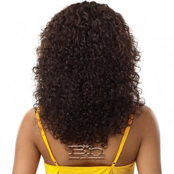 Outre Mytresses Gold Label 100% Unprocessed Human Hair Lace Front Wig - NATURAL JERRY 18-20
