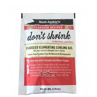 Aunt Jackie's Curls & Coils Flaxseed Recipes Don?t Shrink Flaxseed Elongating Curling Gel 1.75oz