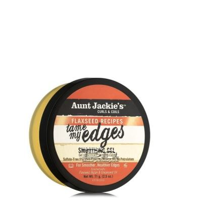 Aunt Jackie's Curls & Coils Flaxseed Recipes Tame My Edges Smoothing Gel 2.5oz