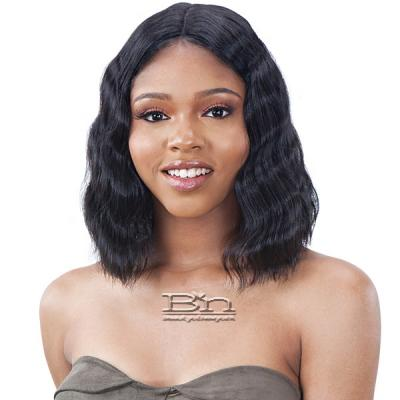 Model Model Lace To Lace Synthetic Hair 5 inch Deep Center Part Lace Front Wig - TRIPLE BARREL CURL 010