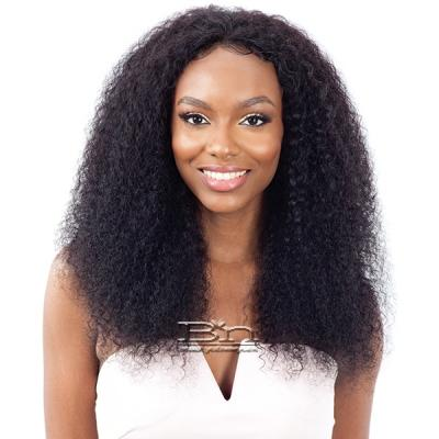 Naked 100% Brazilian WET & WAVY Natural Hair Lace Frontal Wig - BOHEMIAN CURL