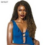 Sensationnel Synthetic Braid - 3X RUWA WATER WAVE 18