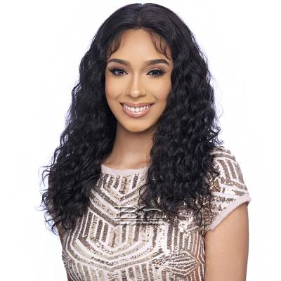 Harlem 125 100% Human Hair Wet N Wavy 13X4 Frontal Lace Wig - 5ML01