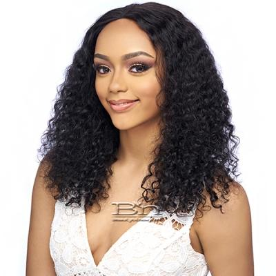 Harlem 125 100% Human Hair Wet N Wavy 5 Lace Front Wig - 5ML02
