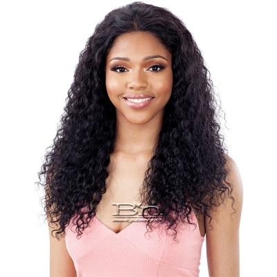 Model Model Nude Fresh Wet & Wavy 100% Brazilian Natural Human Hair Frontal Lace Wig - DEEP WAVE