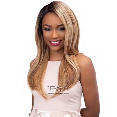 Janet Collection Synthetic Extended Deep Part Lace Wig - MERMAID