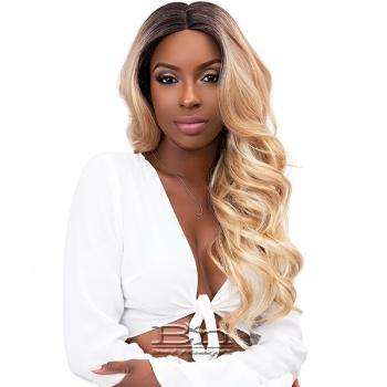 Janet Collection Synthetic Extended Deep Part Lace Wig - VIVIA