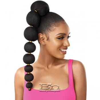 Outre Synthetic Pretty Quick Pony - AFRO PUFF BUBBLE PONY