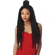 Outre Synthetic Twisted Up 4X4 Braid Lace Wig - PASSION TWIST 28