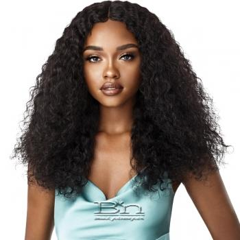 Outre Mytresses Gold Label WET & WAVY 100% Unprocessed Human Hair Lace Front Wig - JERRY CURL 22-24