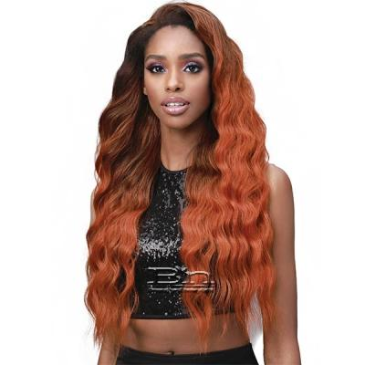Bobbi Boss Human Hair Blend Full Cap Wig - MOGFC005 BEACH WAVE