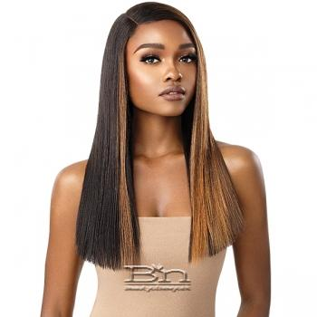 Outre Color Bomb Synthetic Swiss Lace Front Wig - VERONA