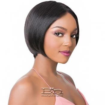 It's A Human Hair Lace Front Wig - WIDE T PART S LACE MIMI