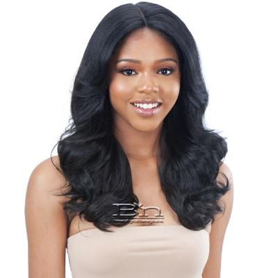 Model Model Synthetic Edges On Point Lace Front Wig - EOP 705