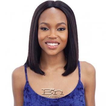 Mayde Beauty Human Hair Invisible 5 inch Lace Part Wig - LONG BLUNT BOB