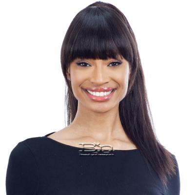 Shake N Go l Unpressed 100% Human Hair Bang Piece - CLASSIC CHINA BANG