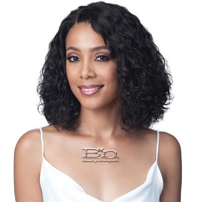 Bobbi Boss 100% Human Hair Lace Front Wig - MHLF422 WATER CURL 12