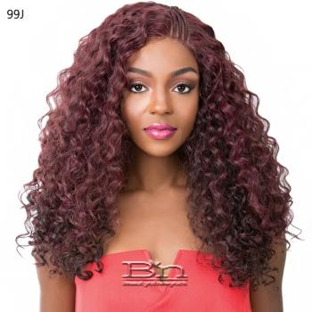 It's A Lace Front Wig -  SWISS LACE T BRAIDED PART KANDEE