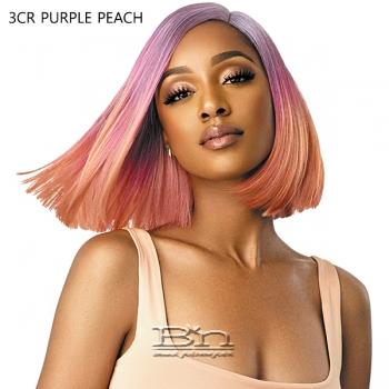 Outre Color Bomb Synthetic Swiss Lace Front Wig - KIELY