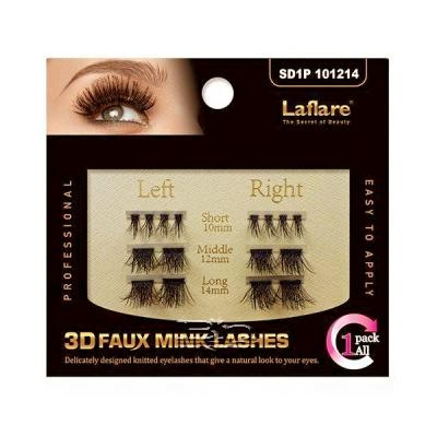 Laflare 3D Faux Mink EyeLashes -1Pack All