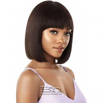 Outre Mytresses WET & WAVY Purple Label 100% Unprocessed Human Hair Wig - DEEP BOB