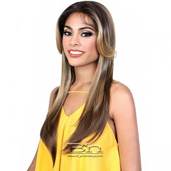 Motown Tress Synthetic Hair Deep Part Let's Lace Wig - LDP TOVA