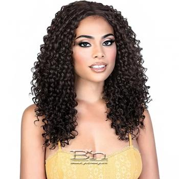 Motown Tress Synthetic Hair Deep Part Let's Lace Wig - LDP WATER