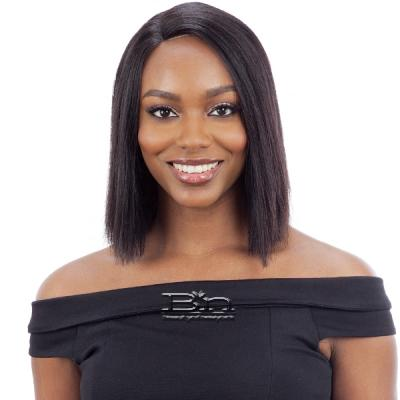 Milky Way Saga 100% Human Hair Lace Front Wig  - SLEEK REMY BOB