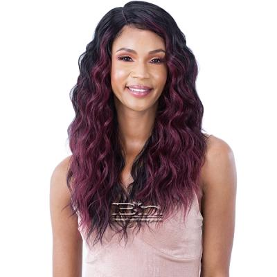 Mayde Beauty Lace & Lace Synthetic Hair 5 inch Lace Front Wig - HAZEL