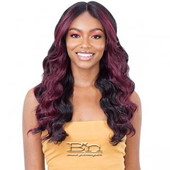 Mayde Beauty Lace & Lace Synthetic Hair 5 inch Lace Front Wig - LUX