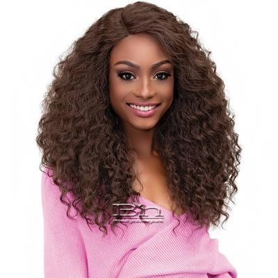 Janet Collection Synthetic Melt Extended Deep  Part Lace Wig - ALYSSA