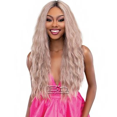Janet Collection Synthetic Melt Extended Deep  Part Lace Wig - ANGEL