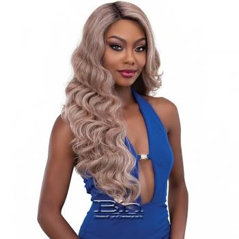 Janet Collection Synthetic Melt Extended Deep  Part Lace Wig - DARYA