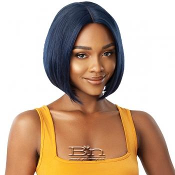 Outre The Daily Wig 100% Human Hair Lace Part Wig - BUMPED BOB 10