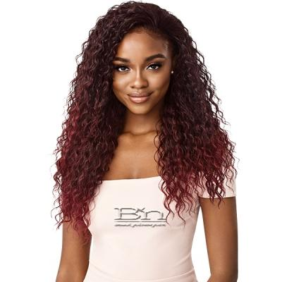 Outre Synthetic Wet & Wavy Style Half Wig Quick Weave - DEEP CURL 24