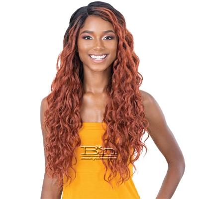 Freetress Equal Lace & Lace Synthetic Hair Lace Front Wig - YELENA