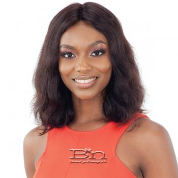 Naked 100% Brazilian Natural Human Hair Lace Front Wig - CLEONA