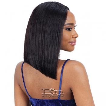 Mayde Beauty Lace and Lace 100% Human Hair Lace Front Wig - REMY BOB