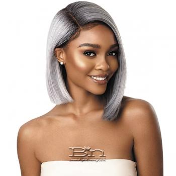 Outre Synthetic I-Part Swiss Lace Front Wig - LENI