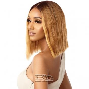 Outre Synthetic I-Part Swiss Lace Front Wig - ALANA
