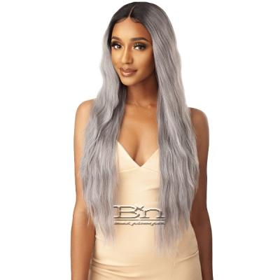 Outre Synthetic I-Part Swiss Lace Front Wig - LEILANI 32