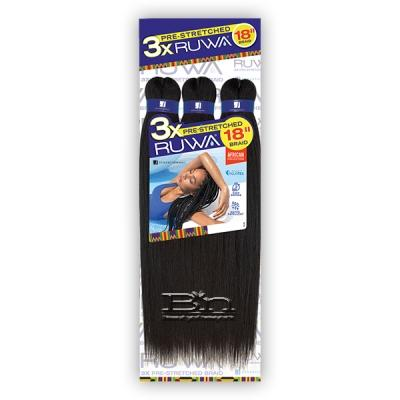 Sensationnel Synthetic Braid - SB 3X RUWA PRE-STRETCHED BRAID 18
