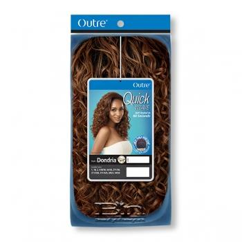 Outre Synthetic Half Wig Quick Weave - DONDRIA