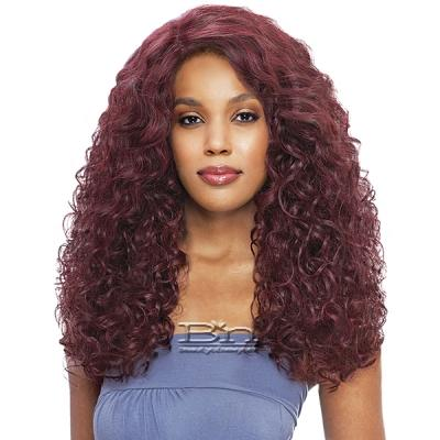 Vanessa Human Hair Blend Swissilk C Part Lace Front Wig - TCHB ELKISS