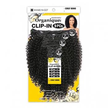 Organique Mastermix Synthetic Clip In Extension - COILY BOHO (9pcs)