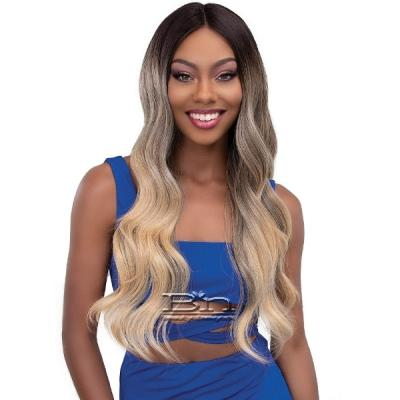 Janet Collection Synthetic Melt Extended Deep  HD Part Lace Wig - BELLA