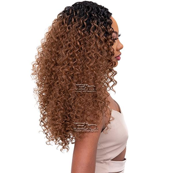 Janet Collection Synthetic Melt Extended Deep  HD Part Lace Wig - DEE
